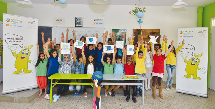 Journée de la Terre : Vivo Energy Maroc et Zakoura sensibilisent à l'environnement