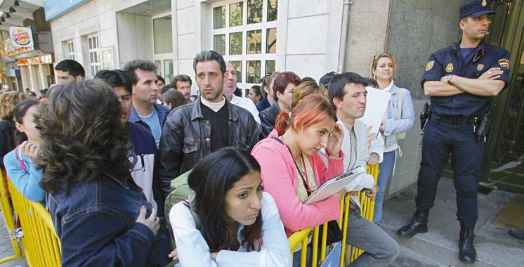 Espagne: Plus de 221.000 Marocains affiliés à la sécurité sociale à fin mars
