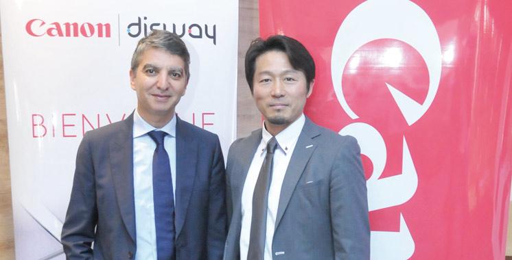Matériel informatique : Canon et Disway scellent un partenariat