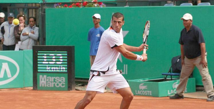 Grand Prix Hassan II de tennis: Bon début pour les raquettes nationales