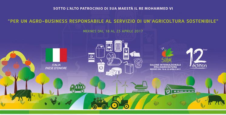 12ème édition du SIAM : L'Italie à l'honneur
