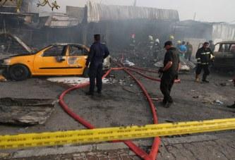 Bagdad : Au moins 13 morts dans un attentat revendiqué par l'EI