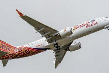 Boeing et Malindo Air célèbrent la livraison du premier 737 MAX