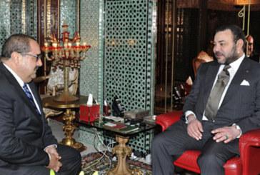 Message de félicitations de du Roi à M. Driss Lachgar suite à sa réélection à la tête de l'USFP