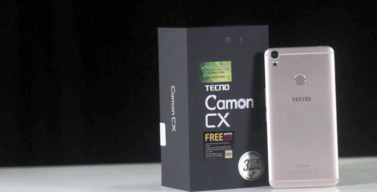 Camon CX: Un nouvel  arrivant sur le marché des smartphones  au Maroc