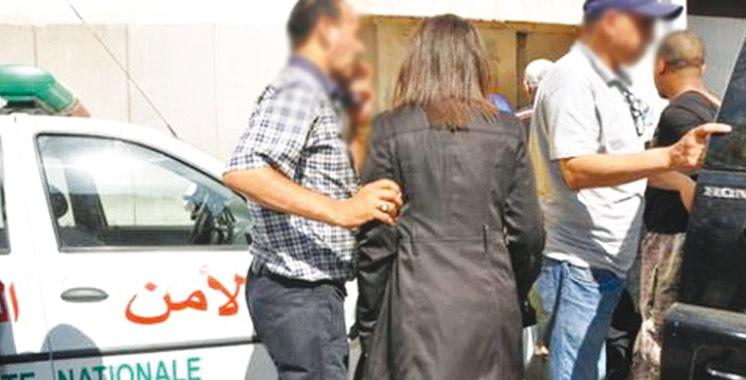 Une femme escroc dans  les filets de la police