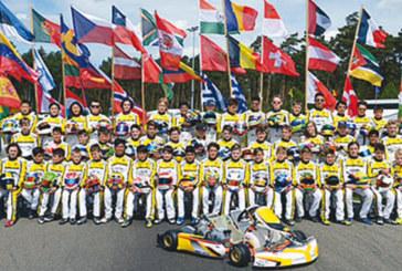 Trophée Académie de karting de la CIK-FIA: Suleiman Zanfari dans le top 10