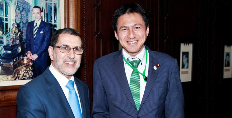 Rabat : rencontre entre El Othmani et le vice-ministre parlementaire japonais des Affaires étrangères