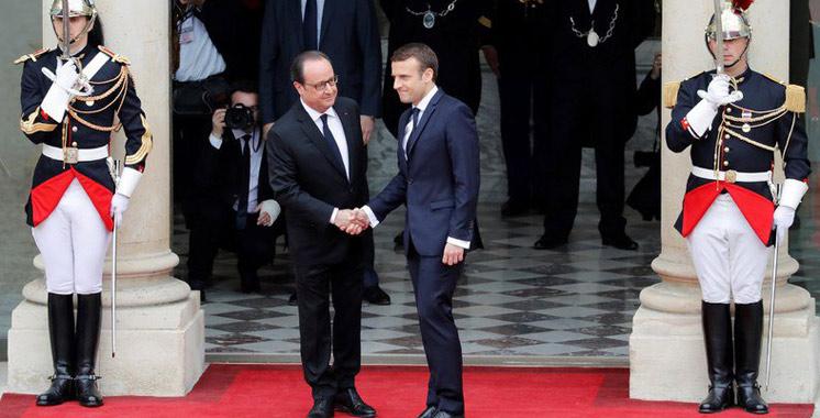 Une passation solennelle à l'Elysée: Emmanuel Macron décidé à tenir tous ses engagements