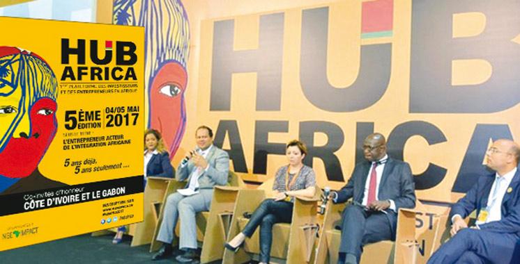 Coup d'envoi de la 5ème édition de Hub Africa: Le Gabon et la Côte d'Ivoire à l'honneur