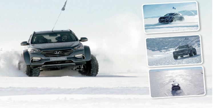 Exploit: Hyundai Santa Fe conquiert l'Antarctique