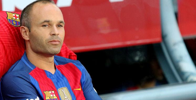 Iniesta : «En tant que 'blaugrana' on ne souhaite jamais la victoire du rival éternel»