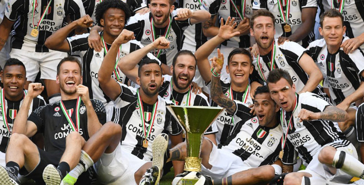 La Juventus Turin championne d'Italie pour la sixième fois d'affilée