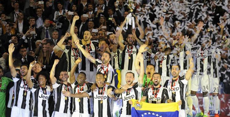 La Juventus de Turin remporte la Coupe d'Italie pour la troisième année consécutive