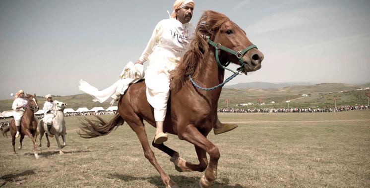 Province de Larache : Le jeu équestre traditionnel Mata à l'honneur