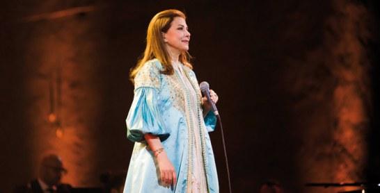 Magida El Roumi interprète «La Tasal» pour la première fois au Maroc