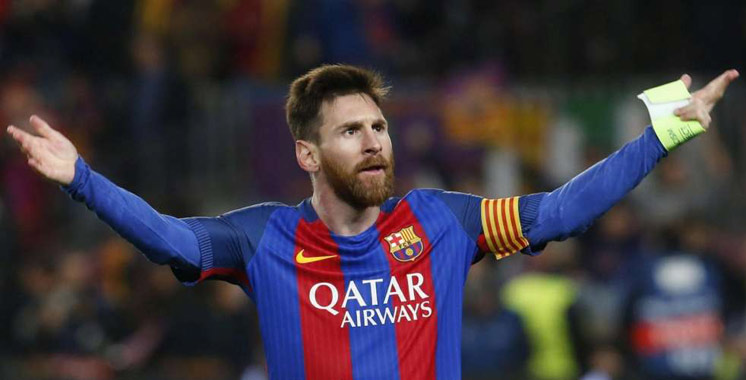 Football : 700 buts pour Messi