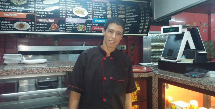 Ftour Avec Mohamed, garçon dans un restaurant à Agadir