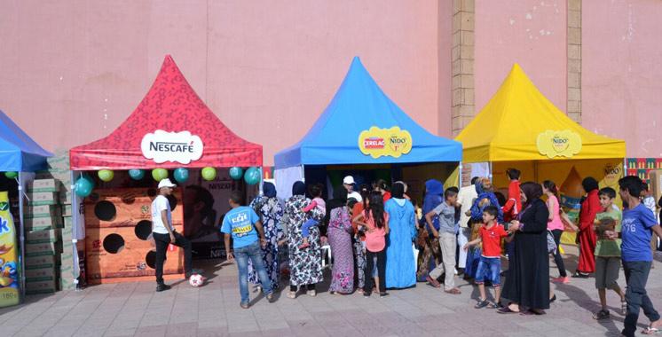 Nestlé Maroc organise un moussem  à Beni Mellal