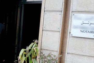 Les notaires ripostent et annoncent une grève  les 27 et 28 février