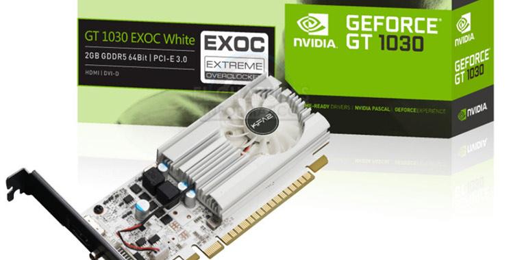 Nvidia lance une carte graphique entrée de gamme
