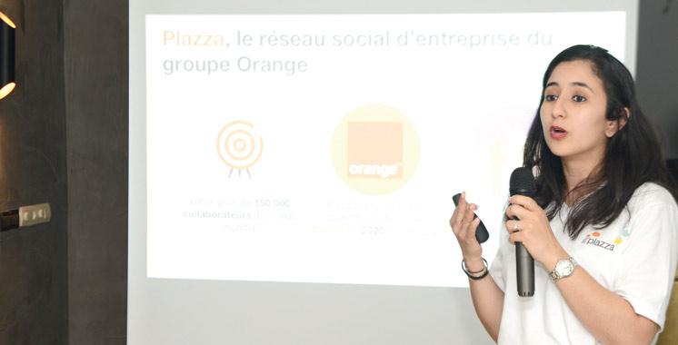 Orange lance son réseau social d'entreprise: Près de 180.000 profils créés sur la plate-forme «Plazza»