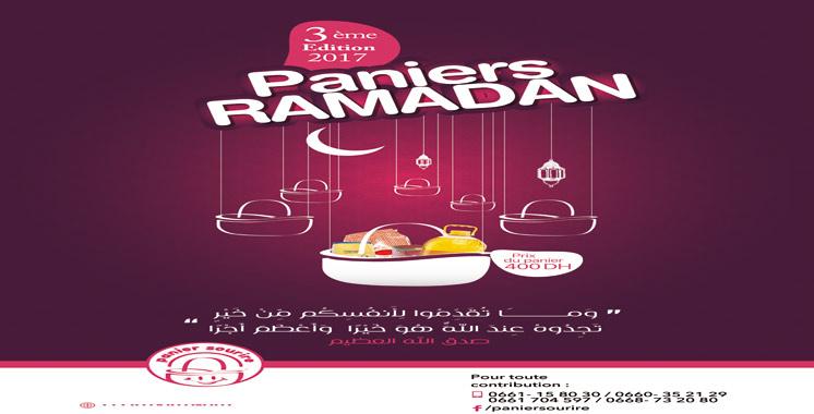 «Paniers Ramadan 2017» : Près de 1.000 familles ciblées à Tata et régions