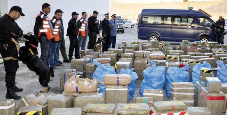 Une tentative de trafic de drogue avortée à Nador: Saisie de 5 tonnes et 450 kg de chira
