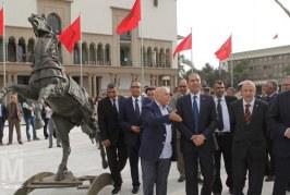 Diapo : Le nouveau visage artistique de la place Mohammed V à Casablanca