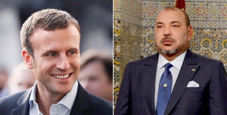 France : Le Roi Mohammed VI félicite Emmanuel Macron pour son élection