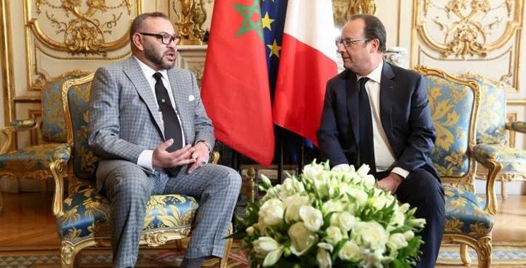 France : le Roi Mohammed VI reçu à l'Elysée