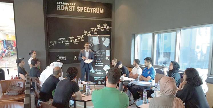 «Opportunity Café» : Starbucks au chevet des jeunes de la région Mena