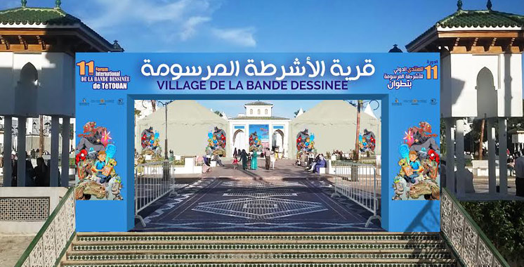 L'Afrique à l'honneur: Un village de bande dessinée à Tétouan