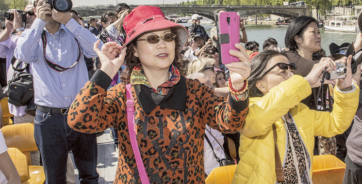 Touristes chinois : Les paiements par carte grimpent de 900%