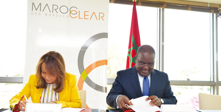 Un accord de coopération signé entre Maroclear et le Dépositaire Central-Banque de règlement en Côte d'Ivoire