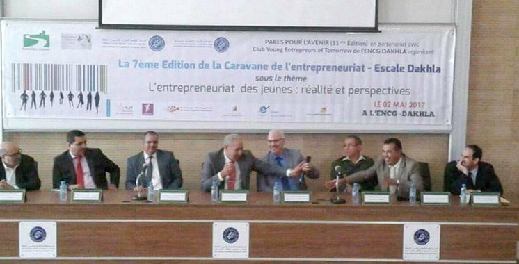 Encouragement à l'auto-entrepreneuriat : Une caravane de l'ENCG à Dakhla