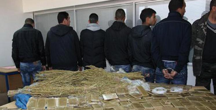 District de Sûreté de Skhirat-Témara : Un taux d'élucidation des affaires de drogue de 100%
