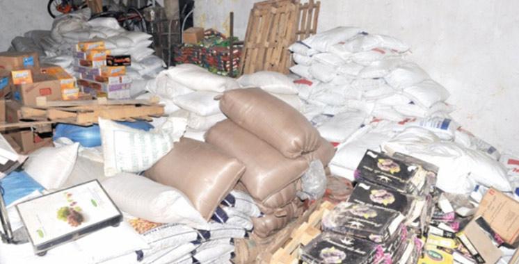 Contrôle sanitaire : Saisie de 290 tonnes de produits avariés en d'avril