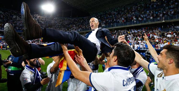 Le Real Madrid roi d'Espagne