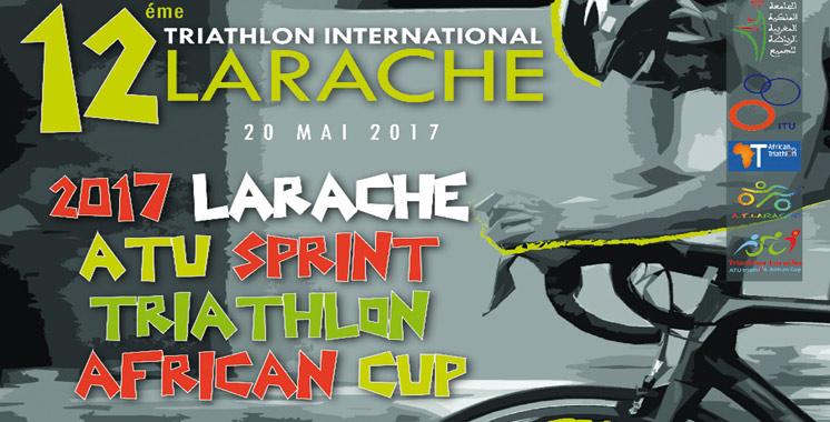 La 12ème édition du triathlon international  de Larache le 20 mai