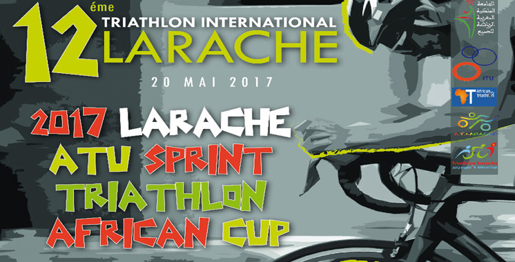 La 12ème édition du triathlon international  de Larache le 20 mai