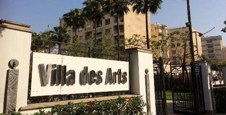 Mohamed Alami à la Villa des arts de Casablanca
