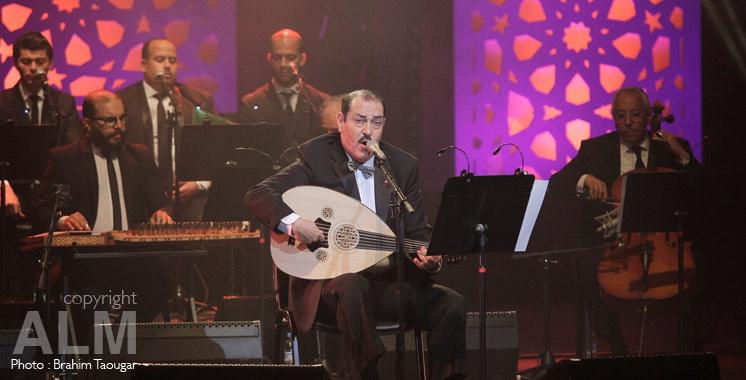 Mawazine : Lotfi Bouchnak chante et enchante le public