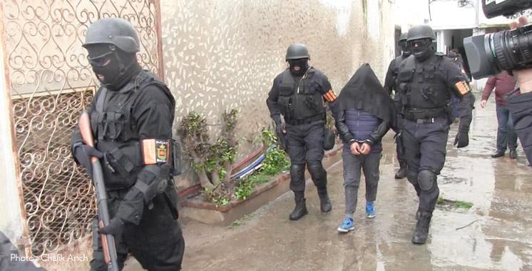 Fnideq : Démantèlement d'une cellule terroriste de cinq membres affilée à Daech