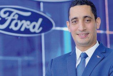 Nomination: Achraf El Boustani nouveau directeur général  de Ford Afrique du Nord