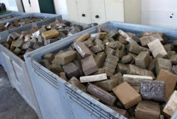 Espagne : saisie de 4,3 tonnes de haschich, 26 personnes arrêtées