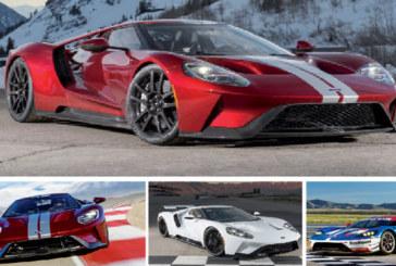 La nouvelle Ford GT dévoile sa fiche complète de spécifications