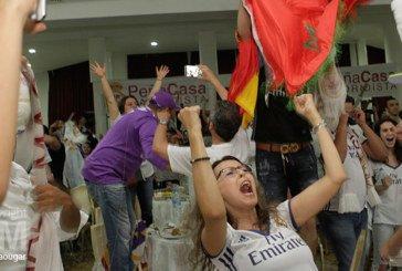 En Images : les supporteurs marocains du Real Madrid ont fêté la victoire de leur club au Paradise de Casablanca