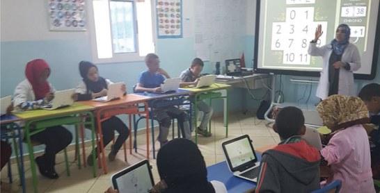 Une école non formelle numérique voit le jour à Oulad Raffa