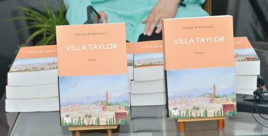 Parution: «Villa Taylor», une énigme pensée  par deux médecins